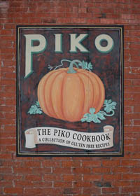 cookbook sign